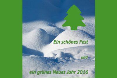 Neujahrswünsche der Grünen Neubiberg