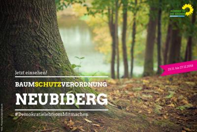 Baumschutzverordnung Neubiberg