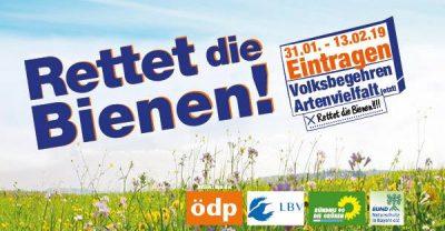 Volksbegehren Artenschutz vom 31.1 bis 13.2: Alle Neubiberger ins Rathaus!