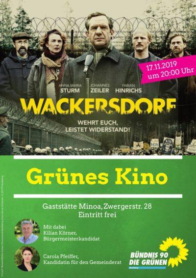 Grünes Kino Neubiberg Wackersdorf